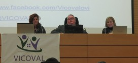 Miembros de VICOVAL durante la presentación en Valencia